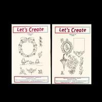 Let's Create 2 x Clear Stamp Sets - A Winter Scene & Labelled wit-958240