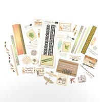 Couture Creations 3 Intricutz Die Sets & Ephemera Pack - Wild & F-958781