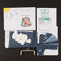 Daisy and Grace Chambray Hexagon Purse Complete Kit-962437