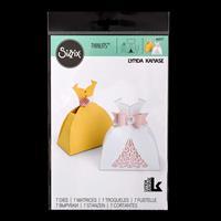 Sizzix® Thinlits Set of 7 Dies - Dress Box by Lynda Kanase-963200