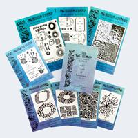 Craftascope Media Medley Collection - 4 x A5 Stamp Sets, 4 x A5 S-966746