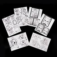 Glitter Magic Acetate Kit - The Naughty & Nice List - 10 Acetate -967265