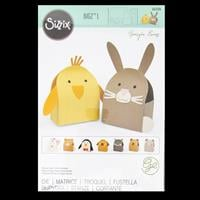 Sizzix® Bigz™ L Die - Animal Box by Georgie Evans-968602