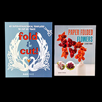 'Fold & Cut' Project Book & 'Paper Folded Flowers' Project Book-969732