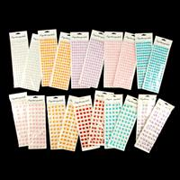 Large Self Adhesive Gem Sheets - Assorted Colours & Shapes - 20 S-970332