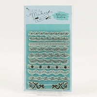 Mama Makes Bohemian Borders A6 Stamp Set - 11 Stamps-970846