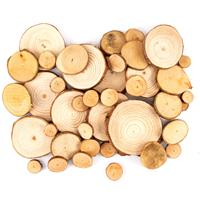 Imagine Design Create Wood Slice Bundle - 40 Pieces-970923