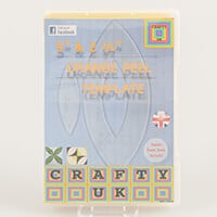 "Crafty UK 5""& 2.5 Orange Peel Template-972956"