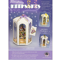 Scary Mary 3 Tiered Flower Stand/Water Fountain Keepsake Kit - 3 -973765