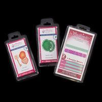 Spellbinders 3 x Die Sets - Pinking Border, Love Locket & Beautif-974295