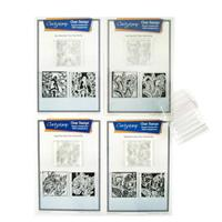 Claritystamp 3 Way Overlay Fairies A4 Stamp Collection - 12 Stamp-975026