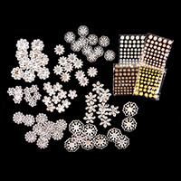 Craft Buddy Ornamental Metal Flowers with Shimmer Stones - 328 Pi-975946