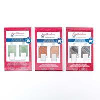 Spellbinders 3 x M-Bossabilities Embossing Folders - Quiltworks, -976156