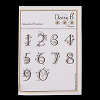 Nina Crafts Amazabet Numbers Stamp Set-978385