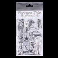 Picture This A6 Stamp Set - Little Boats - 9 Stamps-978856