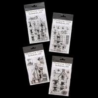 Picture This 4 x A6 Stamp Sets - Ghost Collection - 19 Stamps Tot-979178