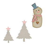 Sizzix® Bigz Die Christmas Patchwork Pick N Mix - Pick any 2-984568