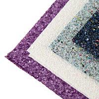 Rosie's 4 x A4 Pick n Mix Chunky Glitter Sheets-986088