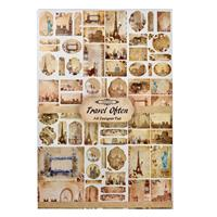 Travel Often 10 x A4 Single Sided Pages of Toppers & Background P-986138