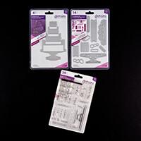 Gemini Create a Card Dimensional Dies with Stamp Set-986725