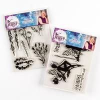 Sara Signature Enchanted Forest Acrylic Stamp Sets - Garden Green-990439