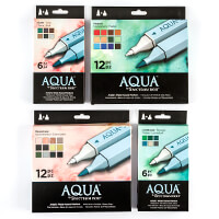 Spectrum Noir Aqua Pens x 36 - Natural Collection-990916