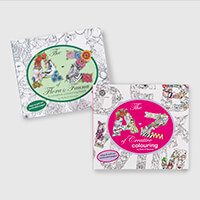 Kelly O'Gorman The A-Z of Flora and Fauna & Creative Colouring Bo-991450