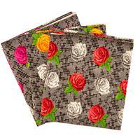 Perfect Occasions - 3 x 100% Cotton Poplin Fabrics - Digital Rose-992405