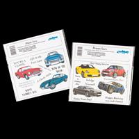 Creative Expressions 2 x Stamp Plates - Classic & Dream Cars - Ap-992849
