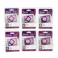 6 x Die'sire Die Sets - Create a Card - Sentiments Collection - 1-993032