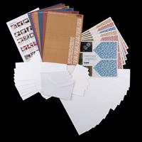 Reddy Creative Cards - Twist Folding Cards Kit - Makes 6 Cards-995372