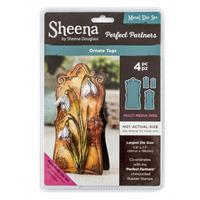 Sheena Perfect Partners Die Set - Ornate Tags - 4 Dies-996847