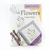 Ready to Stitch Flowers by Lesley Taylor- 74 Reusable Iron-on Tra-997242