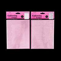 Crafts Too Set of 2 Embossing Folders - Merry Christmas & Snowdro-997580
