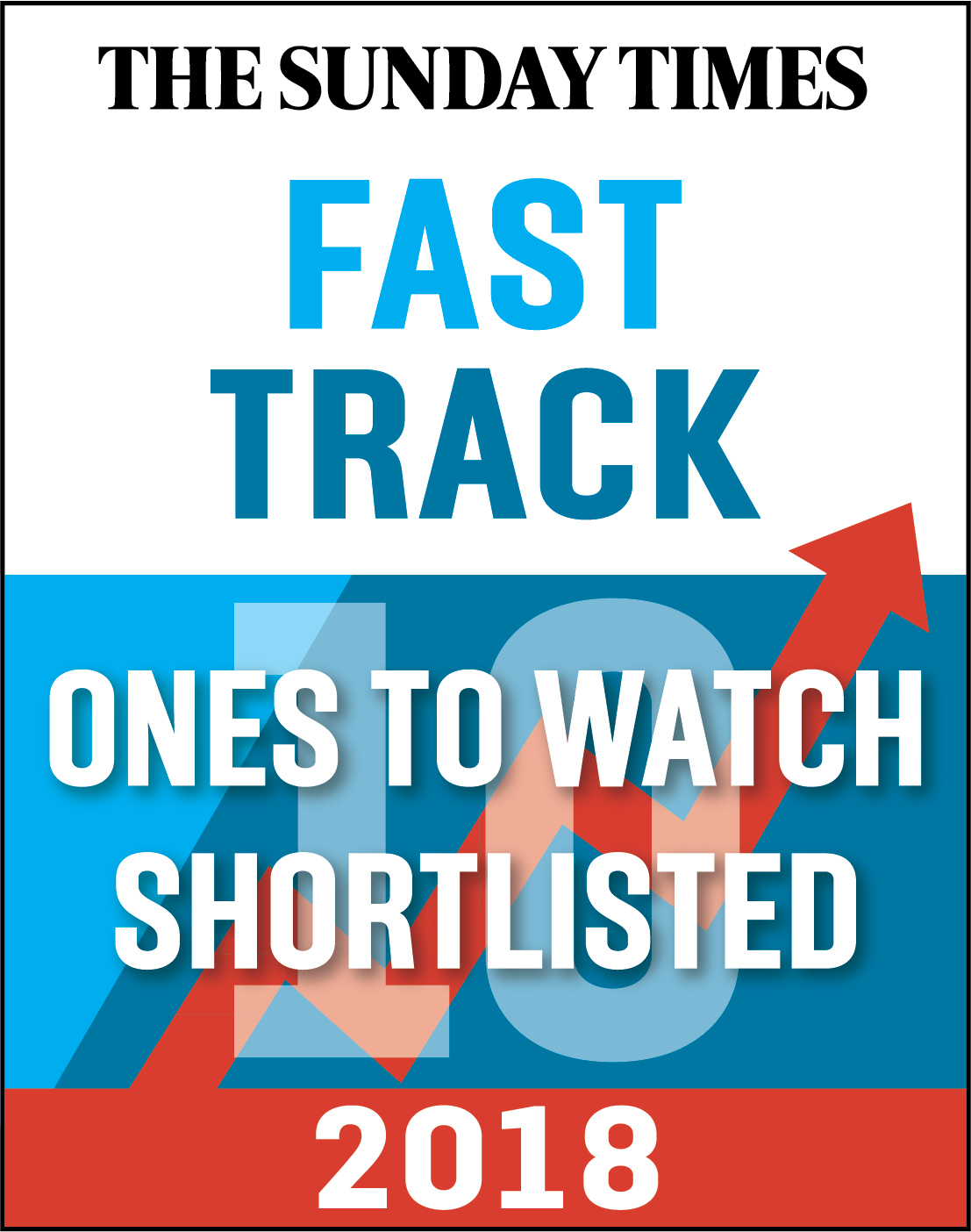 Hochanda shortlisted for the Sunday Times Fast Track Top 100 One's to Watch award.